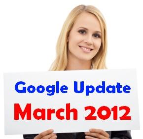 עדכון גוגל מרץ 2012