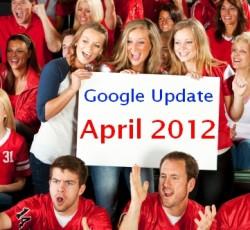 עדכון גוגל אפריל 2012