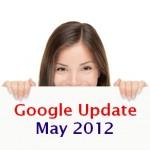 עדכון גוגל מאי 2012