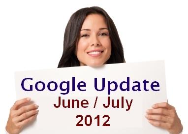 עדכון גוגל יוני יולי 2012
