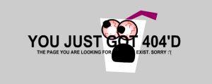 דף שגיאה 404 מרעיש