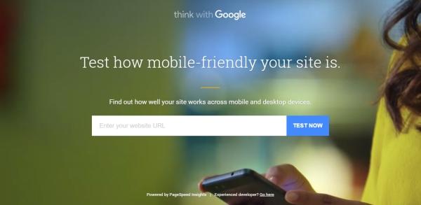 חשוב עם גוגל בדיקת מהירות אתר