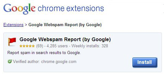 Google Web Spam