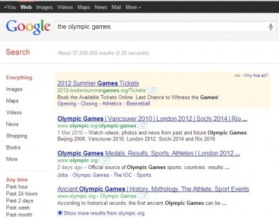 google freshness update מציג נתונים עדכניים שגוגל חושב שאנחנו מחפשים