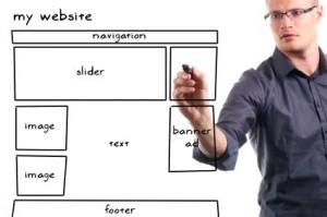 תרשים תכנון אתר