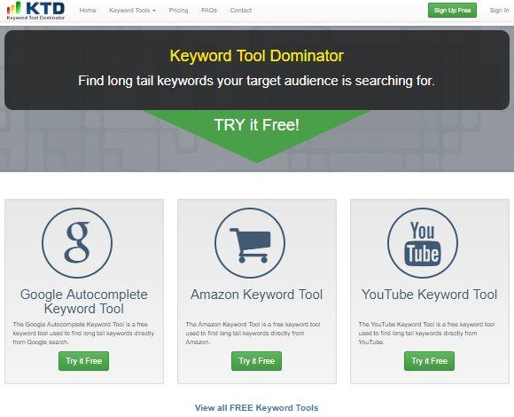 keyword toold dominator