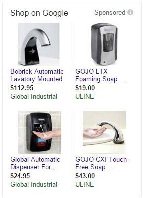 PLA - Product Listing Ads