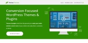 fast wordpress theme thriveThemes
